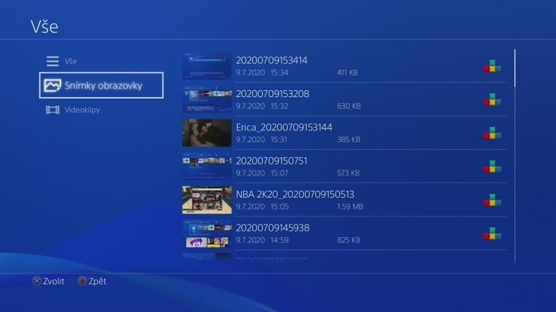 Jak nahrát fotky a videa z PS4 na USB disk 6