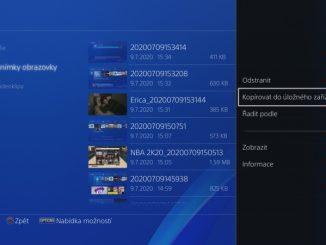 Jak nahrát fotky a videa z PS4 na USB disk 8
