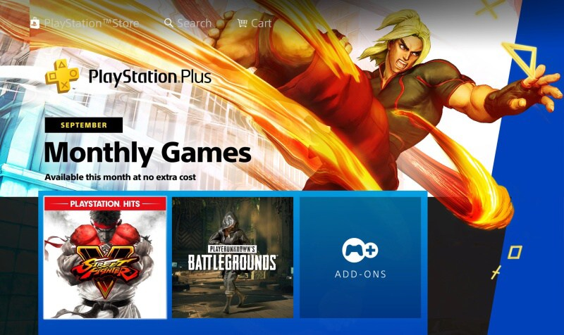 Playstation Plus games 09-2020