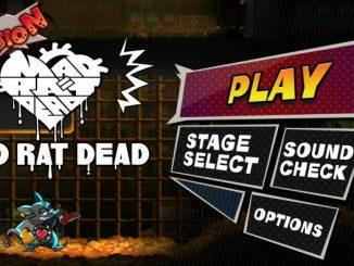 Mad Rat Dead PS4 trial demo