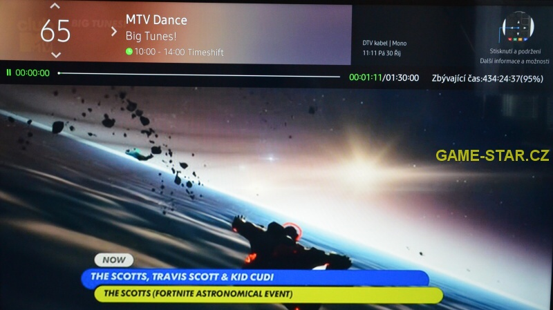 Time shift na smart tv