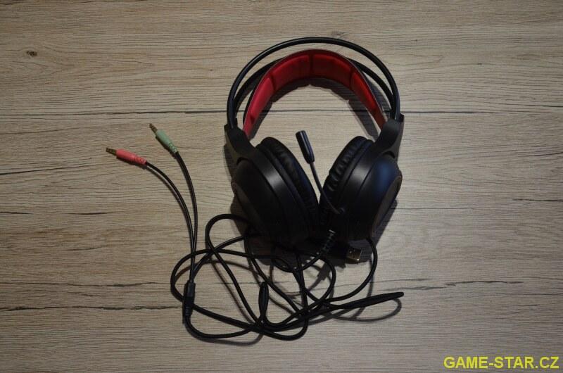 Sluchátka s mikrofonem