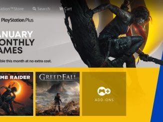 Sony Playstation Plus hry leden 2021