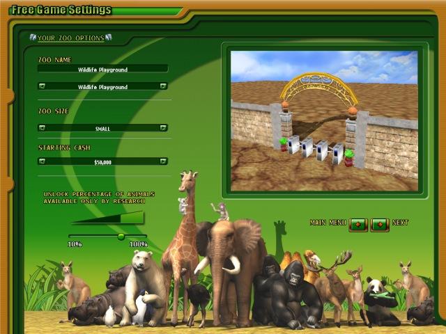 Zoo Empire hra
