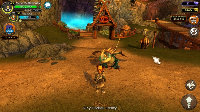 School of Dragon hra 4