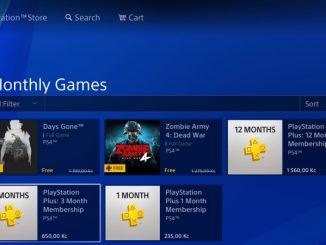 Playstation Plus hry duben 2021