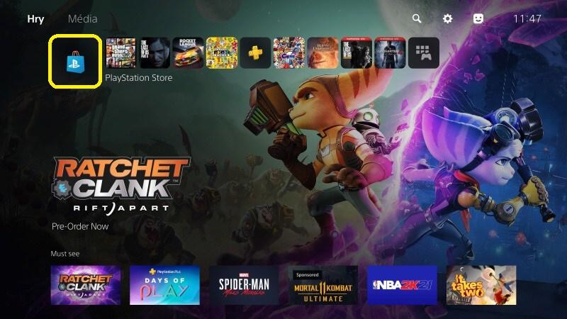Hry zdarma na PS5