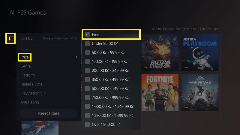 Hry zdarma na PS5 - 2