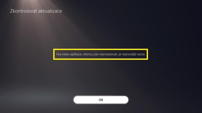 Jak aktualizovat hru na Playstation 5 - 3