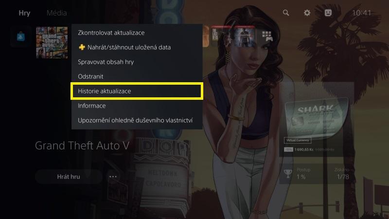 Jak aktualizovat hru na Playstation 5 - 4