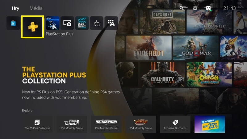 Jak koupit PlayStation Plus členství na PS5 - 6