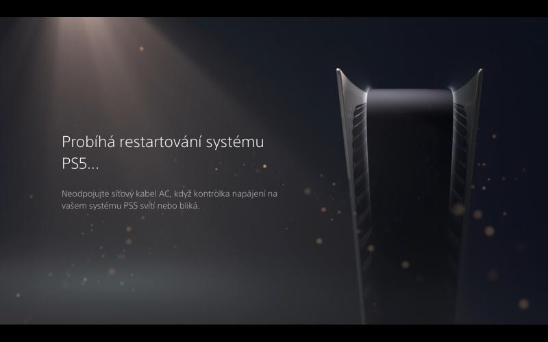 PS5 aktualizace systémového software 7