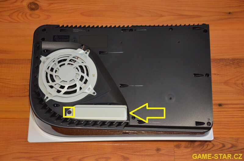 Jak přidat SSD disk M.2 do PS5