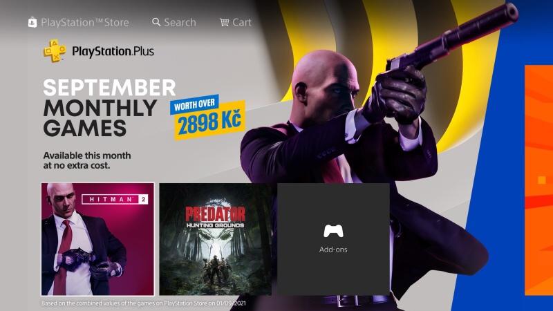 Ps Plus hry září 2021