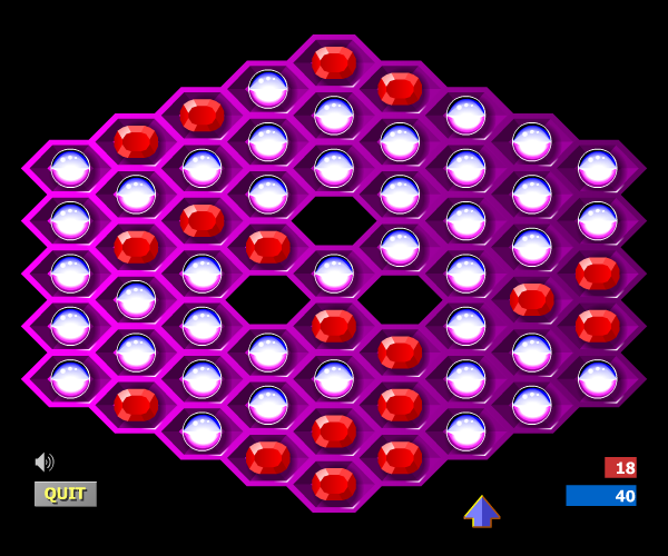 Hexxagon - klasická flash hra